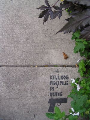 Killing People Is Rude